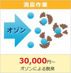消臭作業30000円~