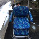 車いすの寄付先を募集していますの画像